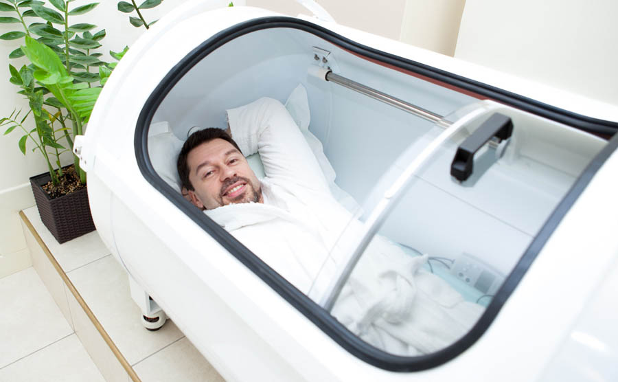 Solace 210 hyperbaric chamber and  HBOT for home