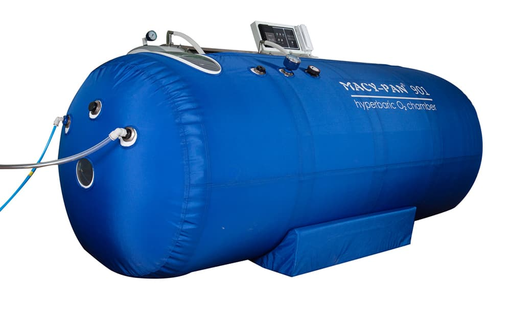 How does solace 210 hyperbaric chamber work to process Barotherapy?
