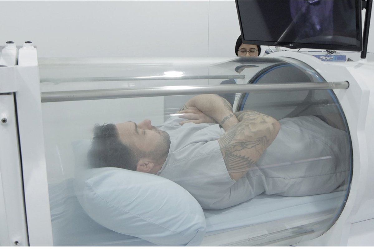 What scientific studies say about oxygen chamber for sale?
